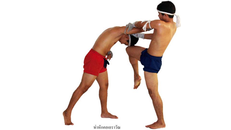 แม่ไม้มวยไทย : หักคอเอราวัณ