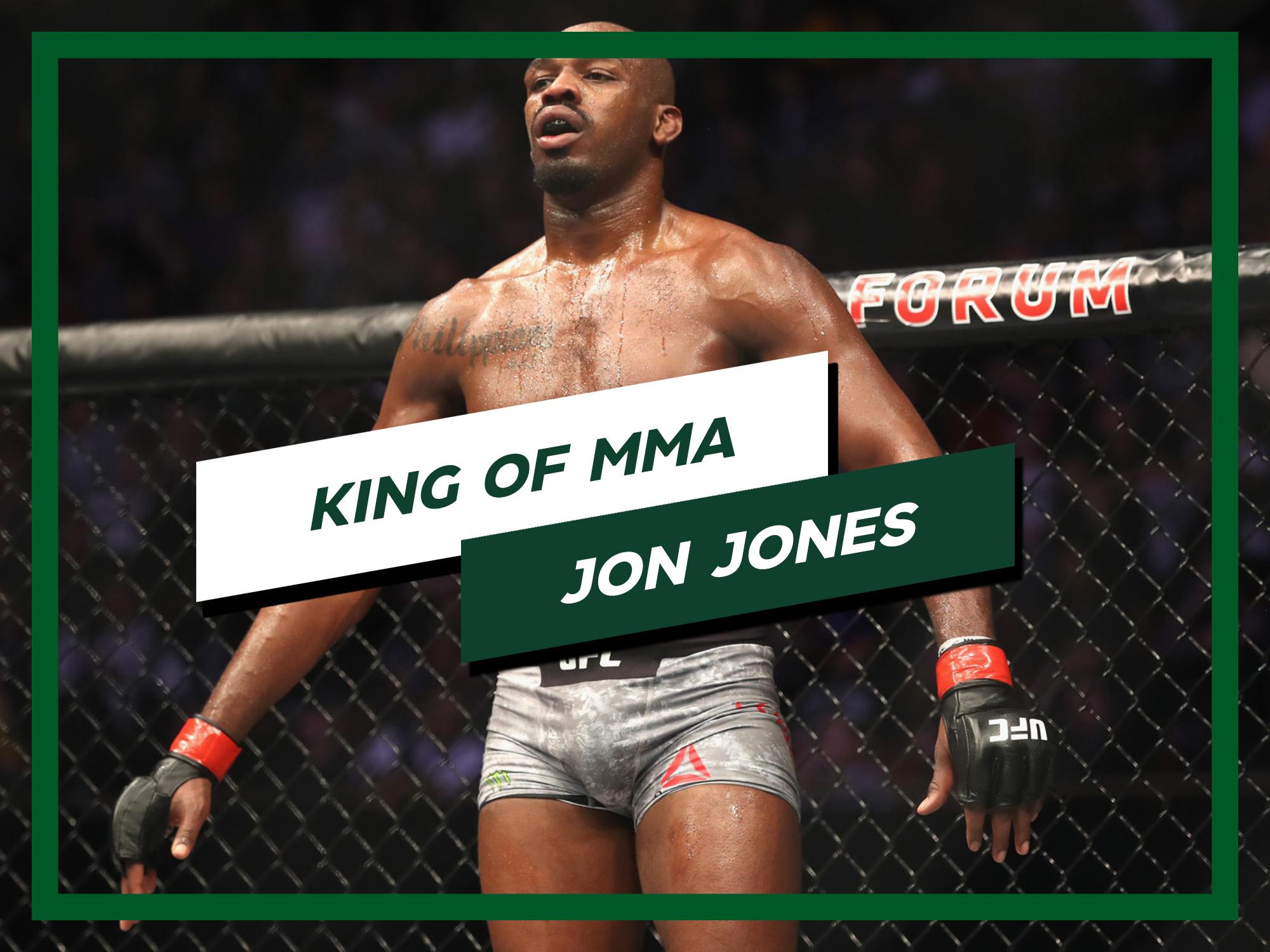KING OF MMA JON JONES